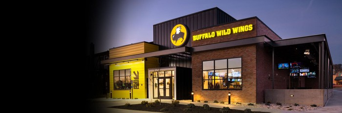 A Buffalo Wild Wings restaurant