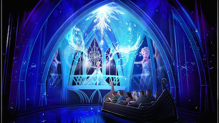The Frozen Ever After ride at Disney World's Epcot.