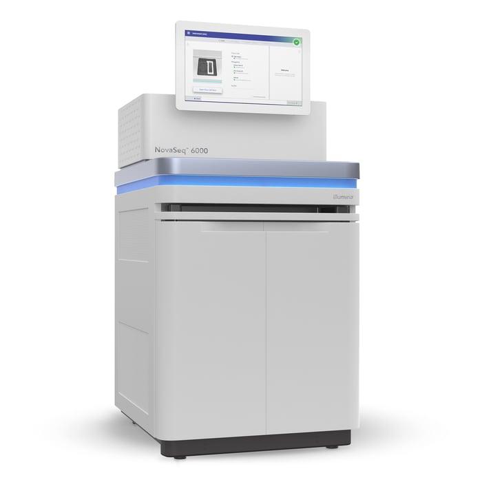 Illumina NovaSeq 6000 gene sequencing system
