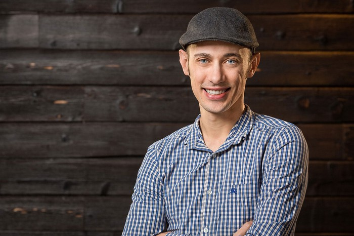 A portrait of Shopify CEO Tobi Lutke