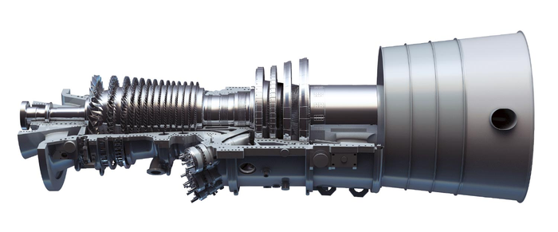 a gas turbine