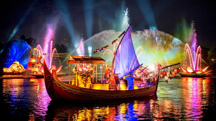 Rivers of Light show at Disney's Animal Kingdom.