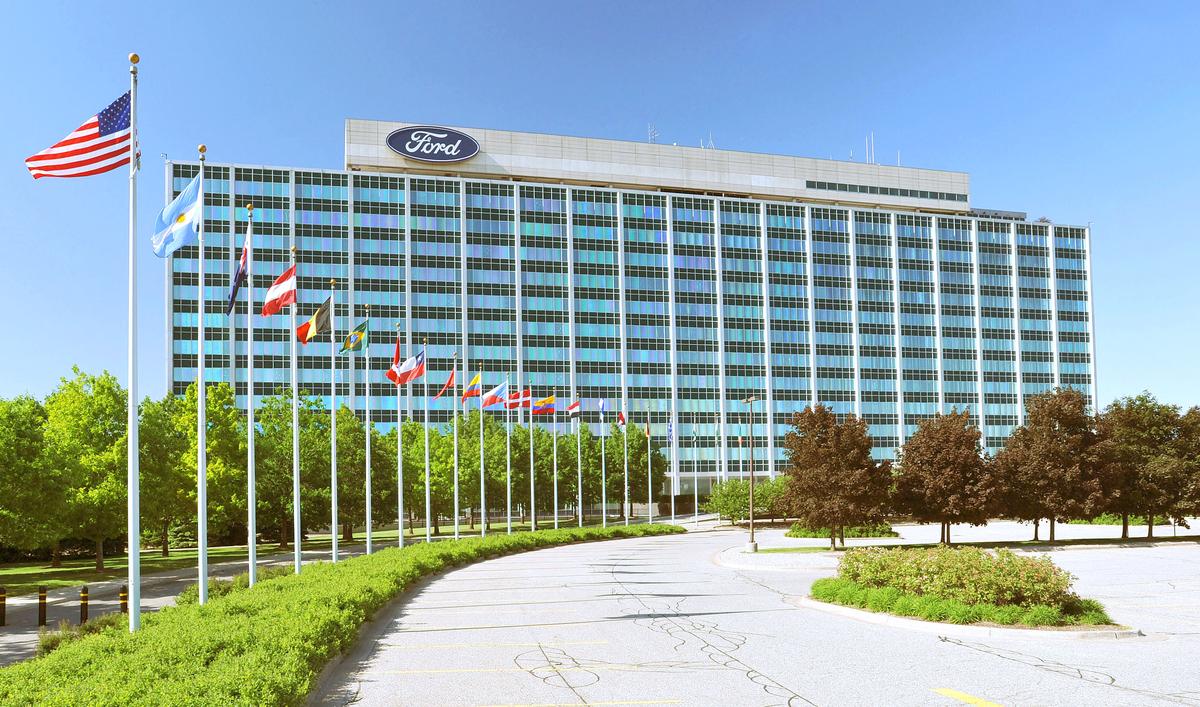 Ford headquarters in Dearborn, MI.