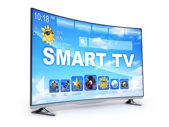 Smart TV set