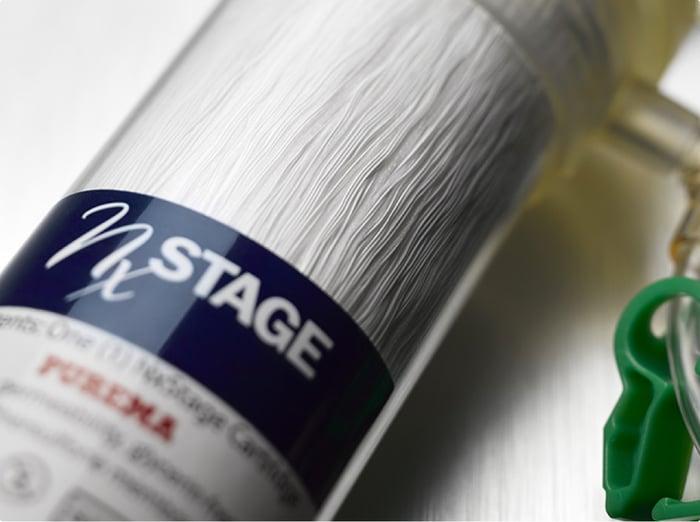NxStage proprietary Purema filter.