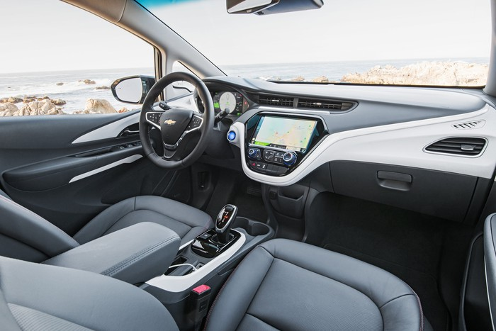 Chevrolet Bolt interior and dash