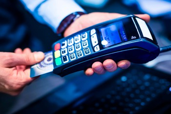 credit card machine terminal processor