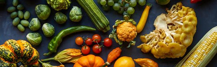 A selection of vegetables from Blue Apron