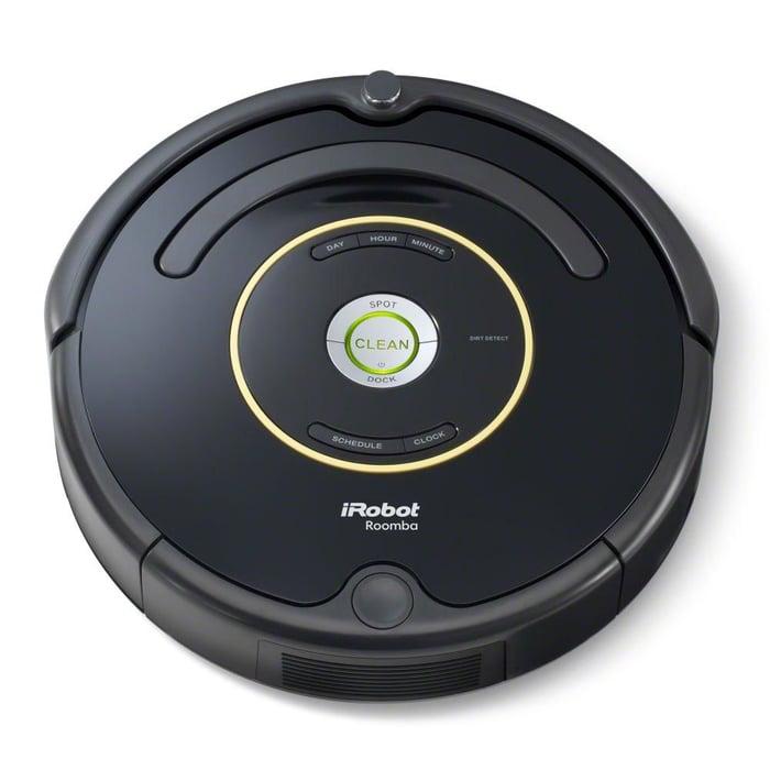iRobot robotic vacuum:  Image by author