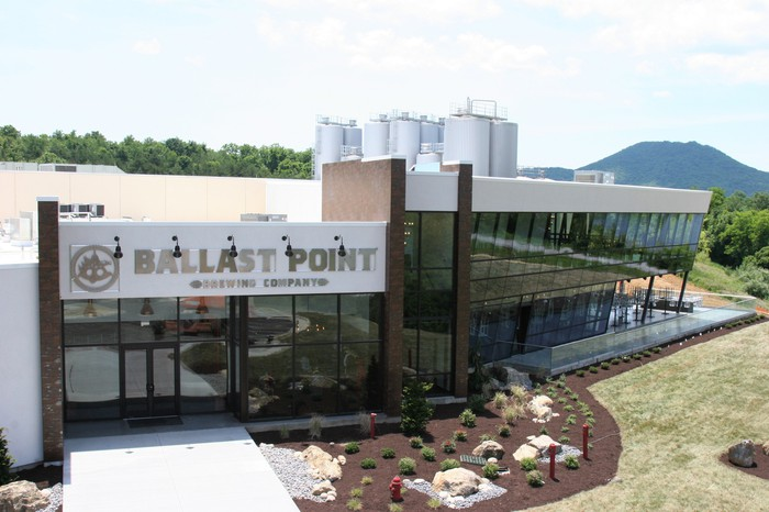 Ballast Point Brewing's new facility