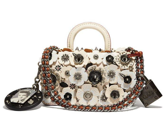 """Love Me Tender"" handbag from Coach."