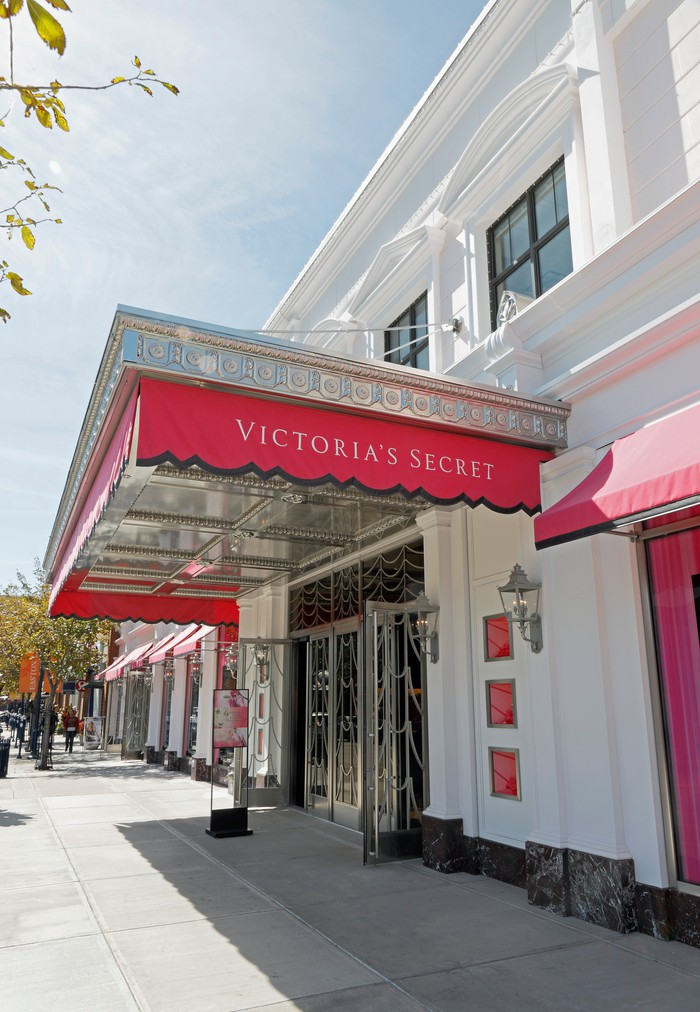 The entrance to a Victoria's Secret store