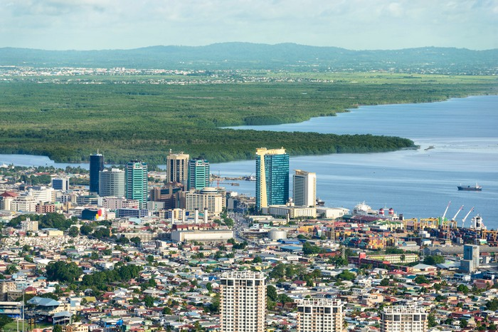 Downtown Port of Spain, Trinidad and Tobago