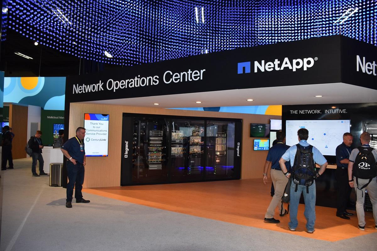 NetApp Network Operations Center.