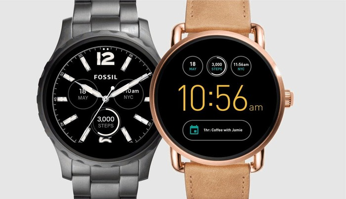 Fossil's Q smartwatches.