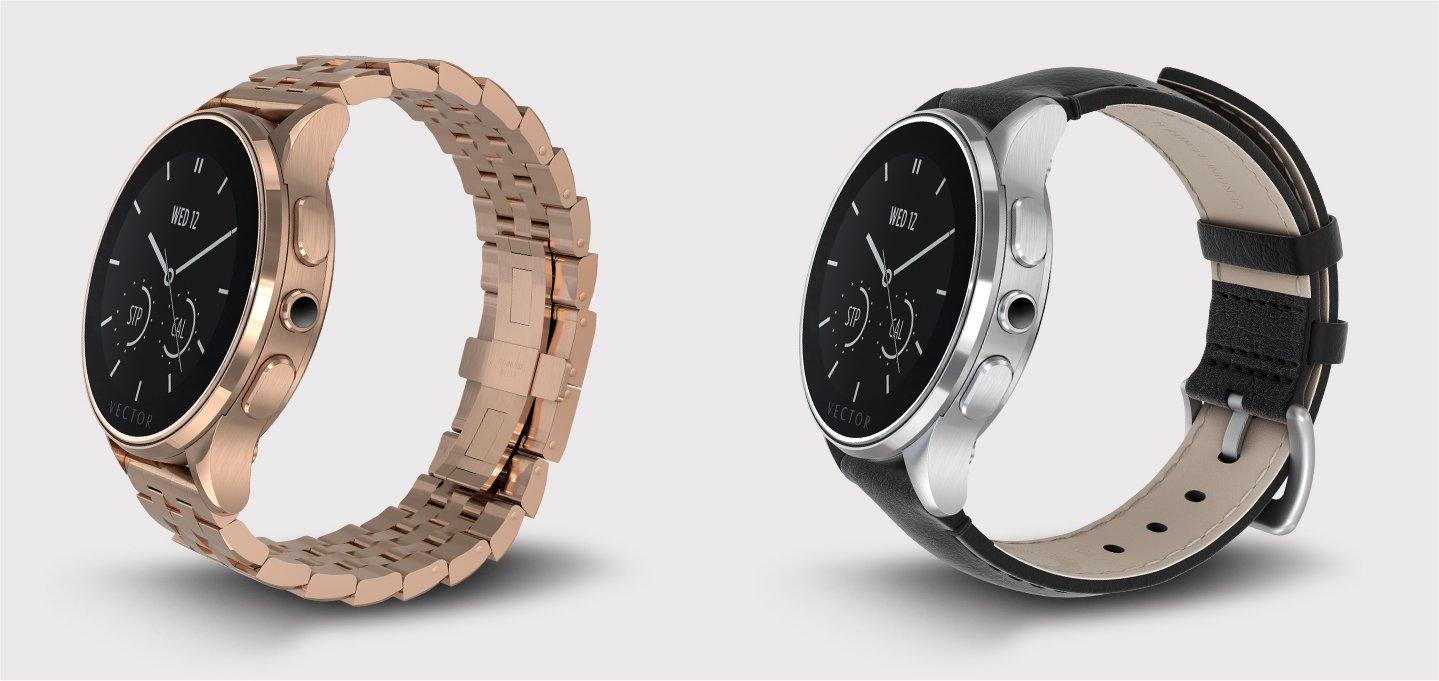 Vector's Luna smartwatches.