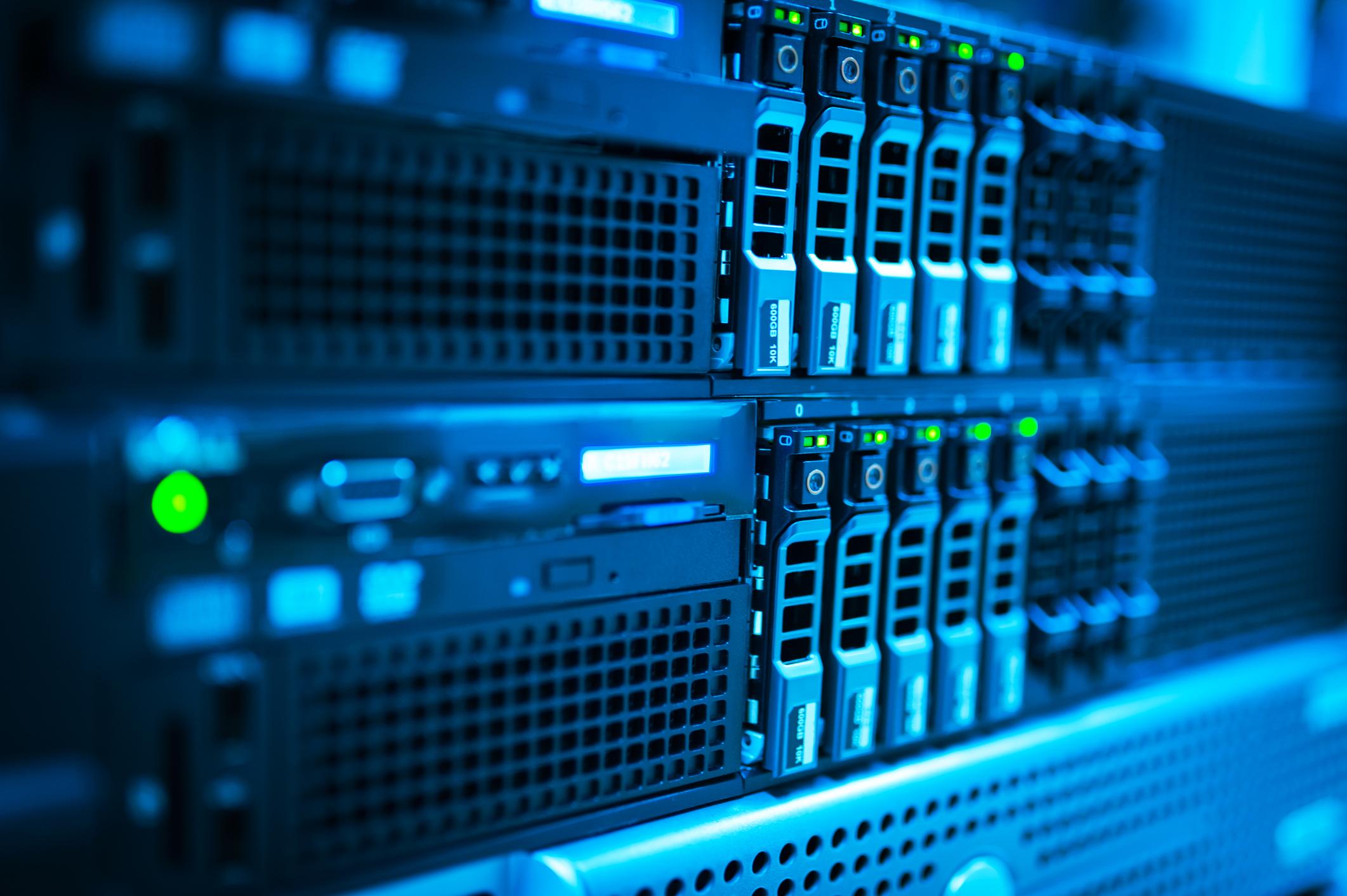 Network servers.