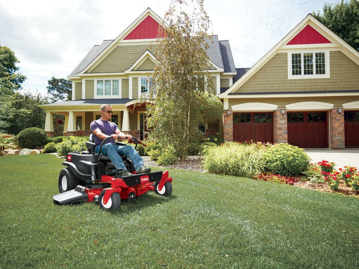 Toro's new TimeCutter lawn mower