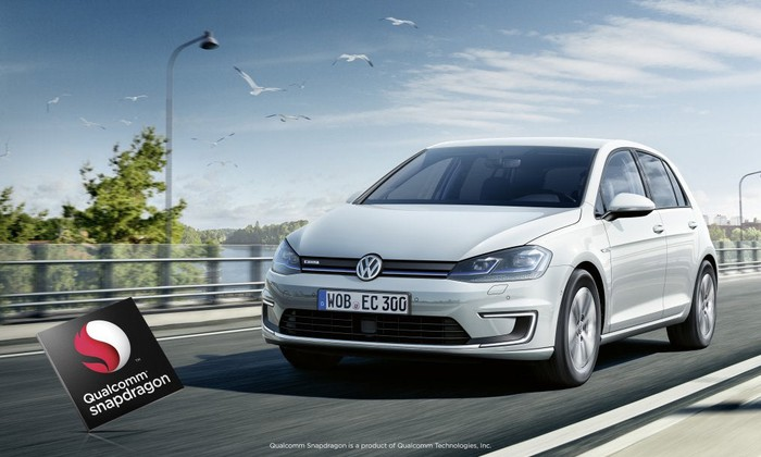 Qualcomm's chips power infotainment systems in Volkswagen vehicles.