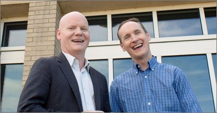Stock Advisor co-advisors Tom and David Gardner.