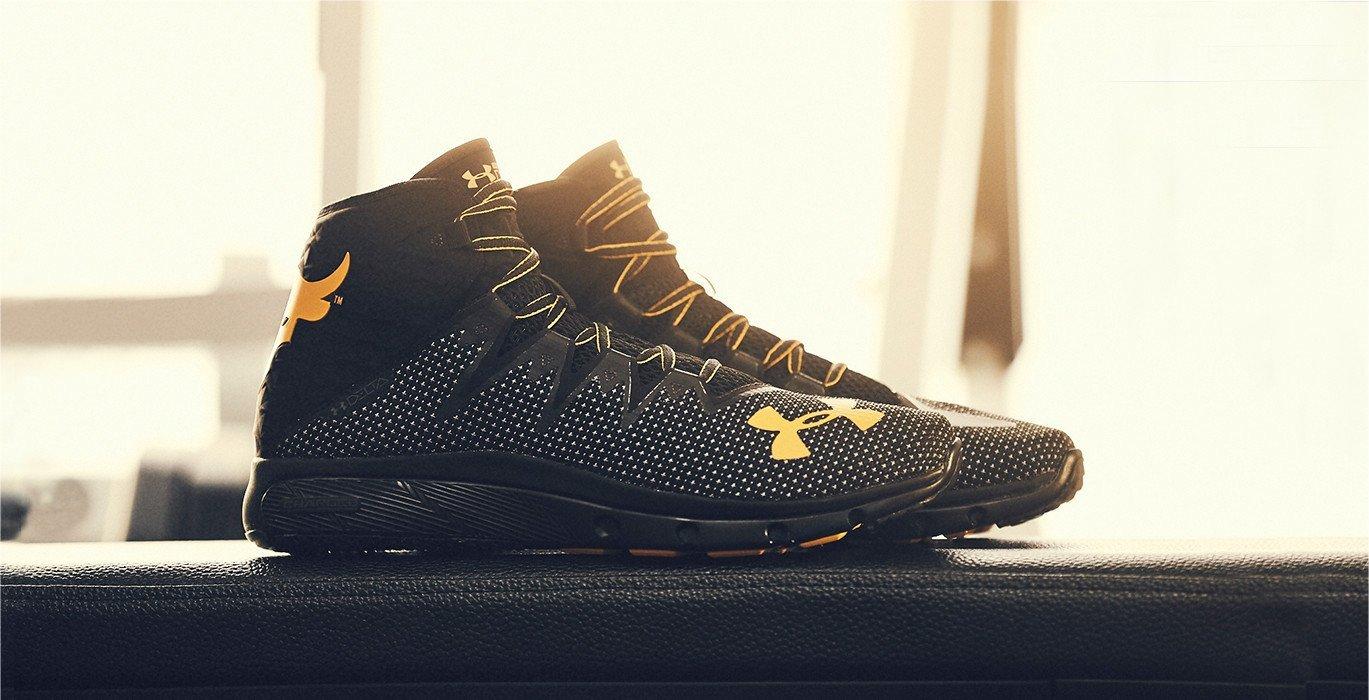 UA's Project Rock Delta shoes.