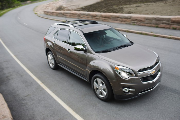 A Chevy Equinox crossover