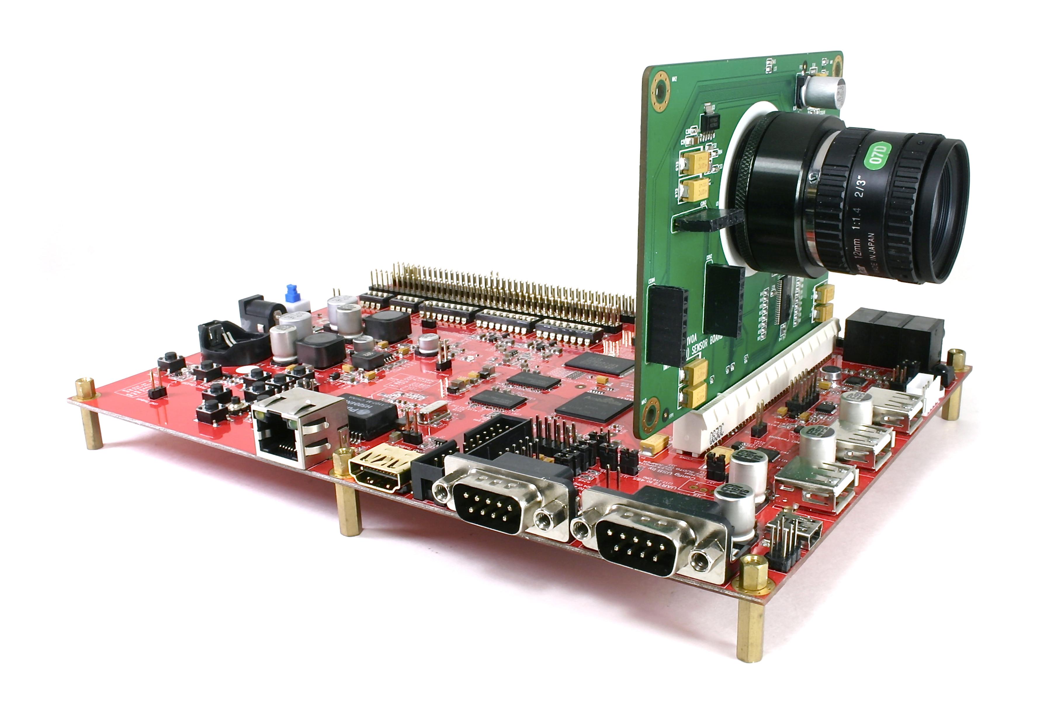 An Ambarella chip mounted.