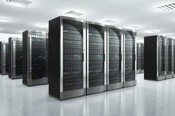 Data center server racks