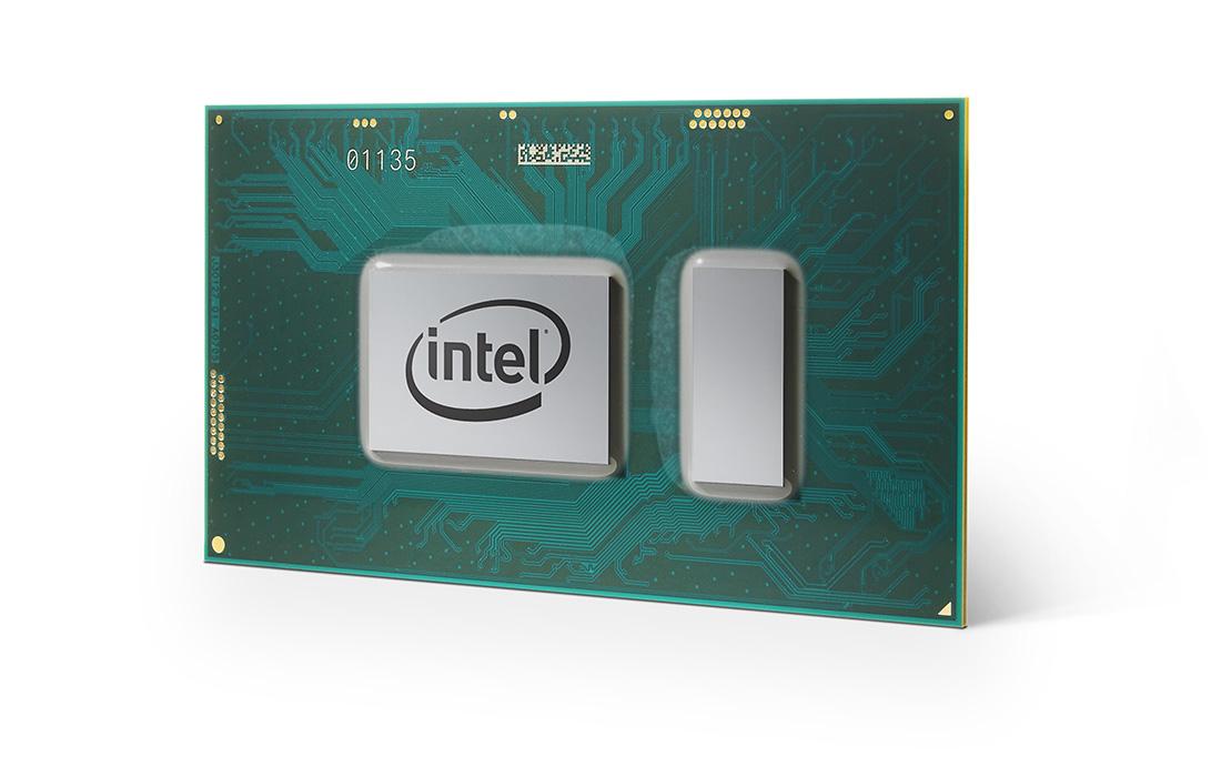 An Intel Core processor.