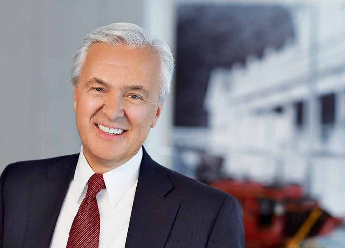 A headshot of John Stumpf, the former chairman and CEO of Wells Fargo.