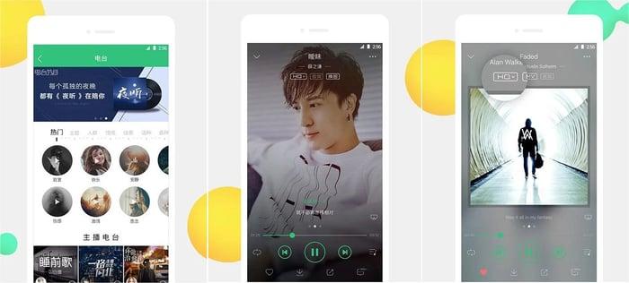 Tencent's QQ Music.
