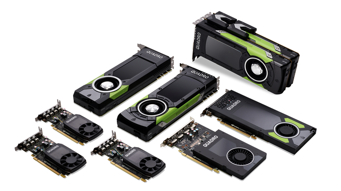 NVIDIA's Quadro graphics processors