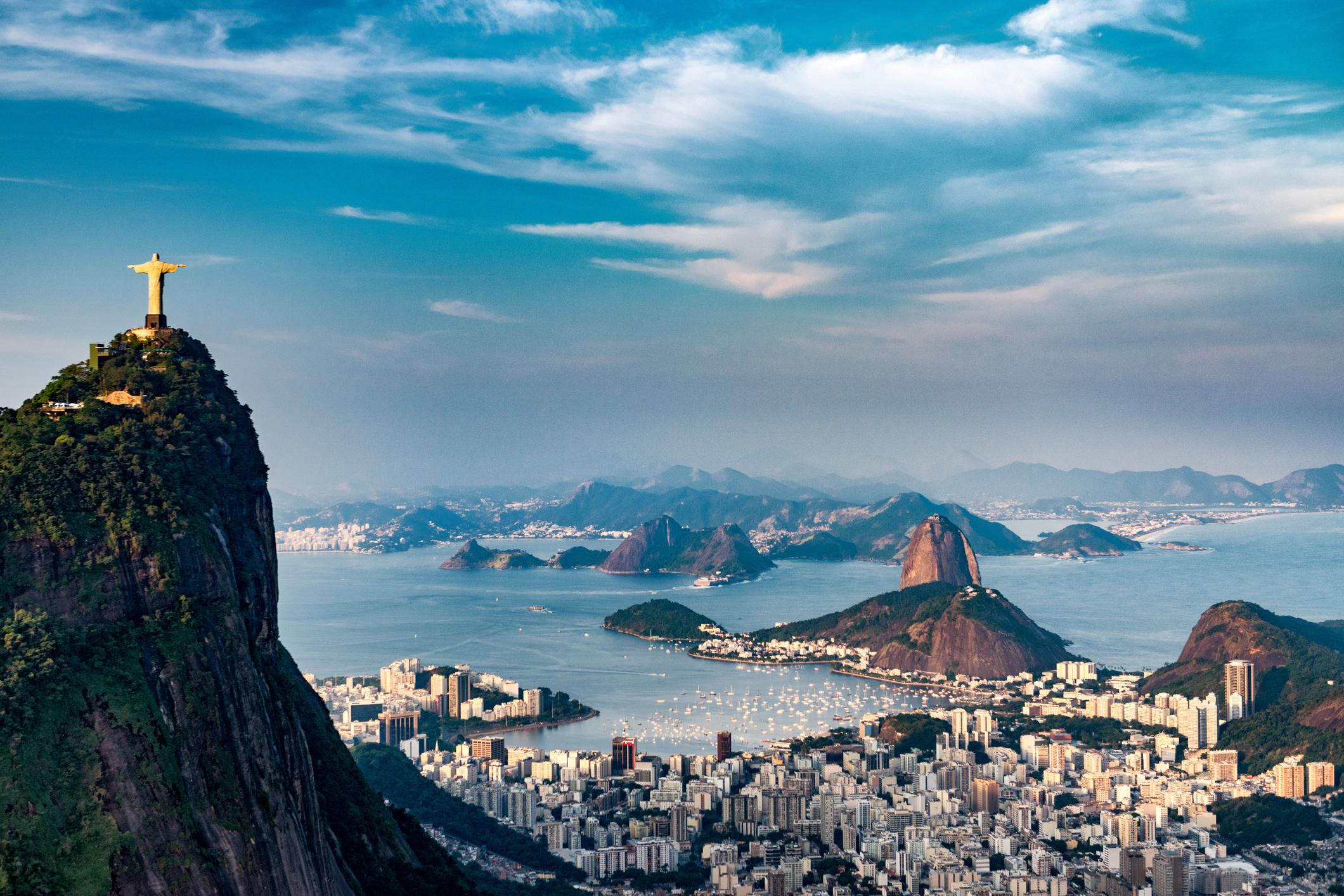 Rio de Janeiro seen from the air