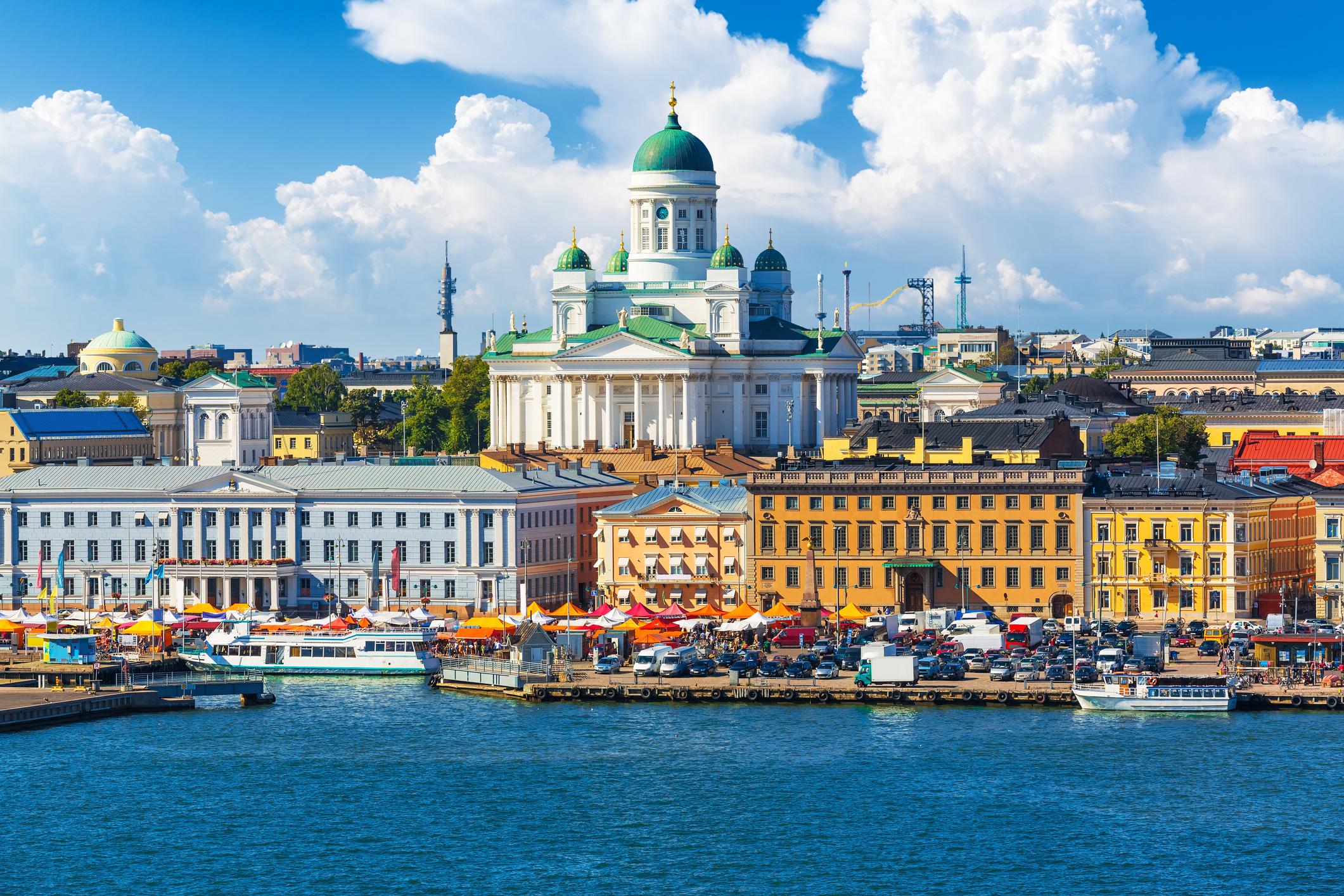 Helsinki Old Town pier