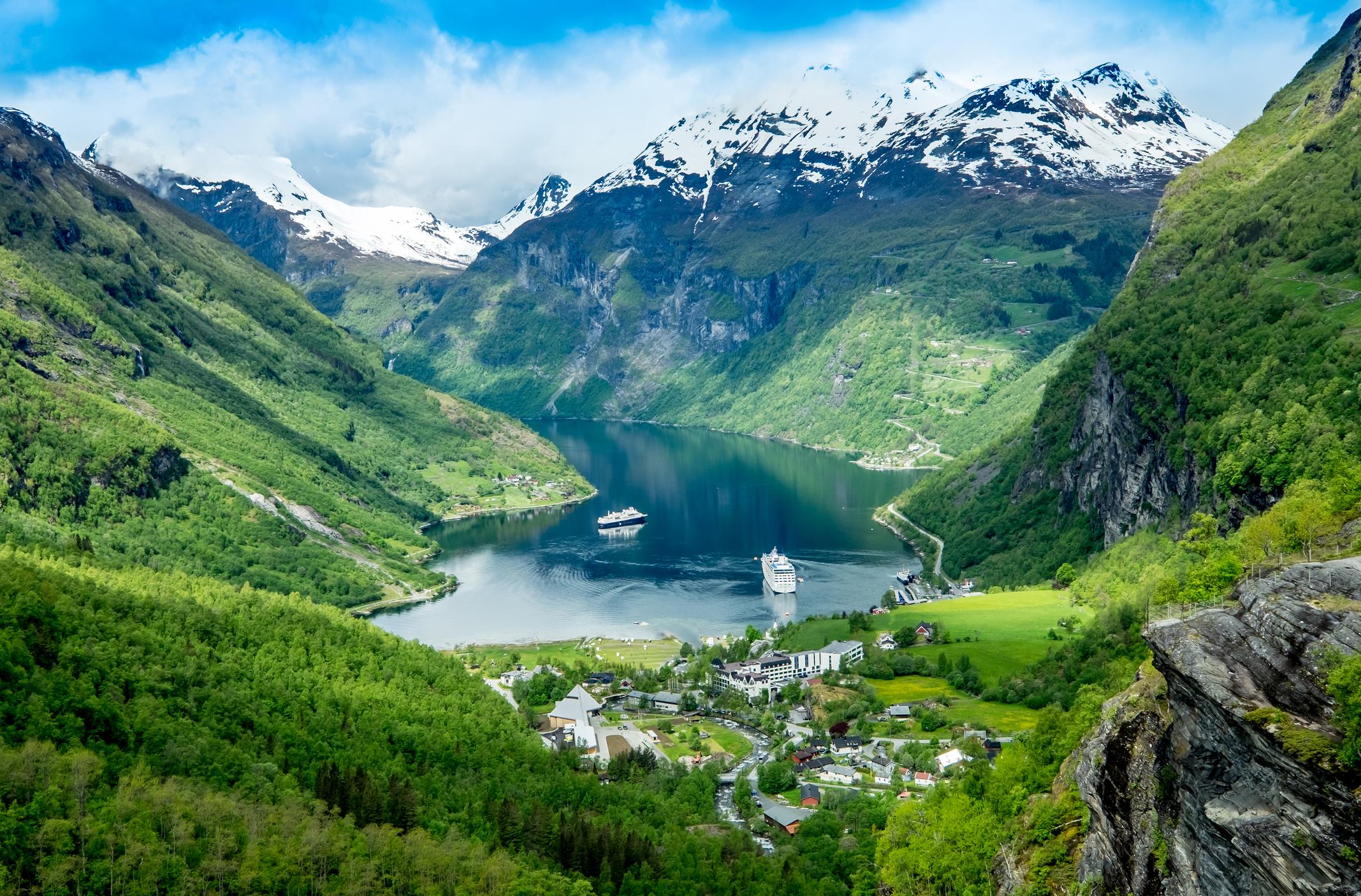 Norway's Geiranger Fjord