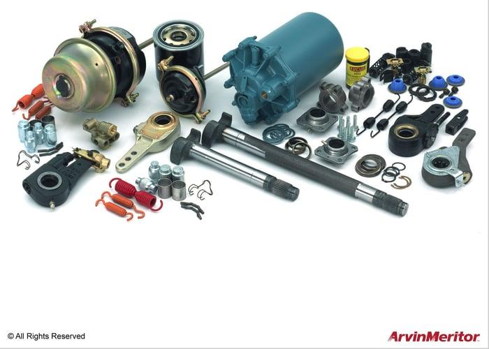 Various automotive parts.