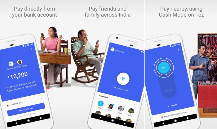 Why Google Launched Tez Instead of Android Pay in India