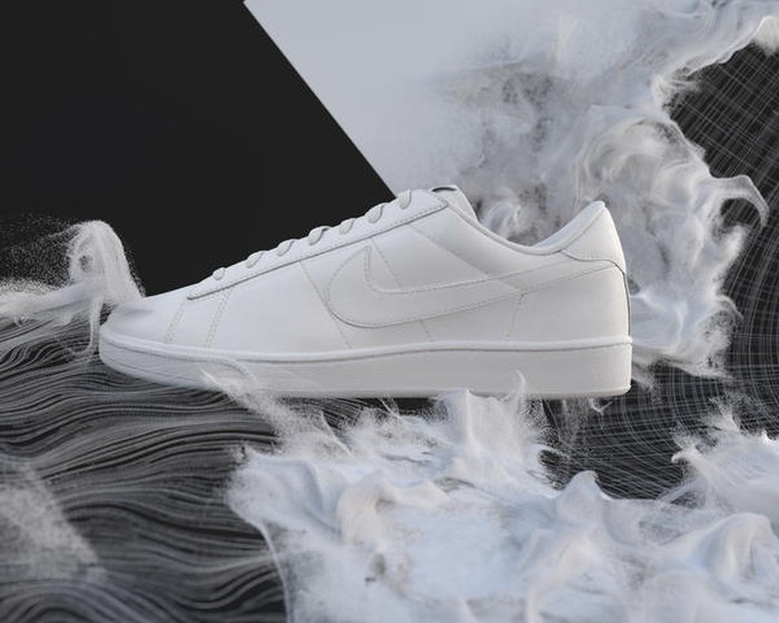 The new Nike Flyleather shoe