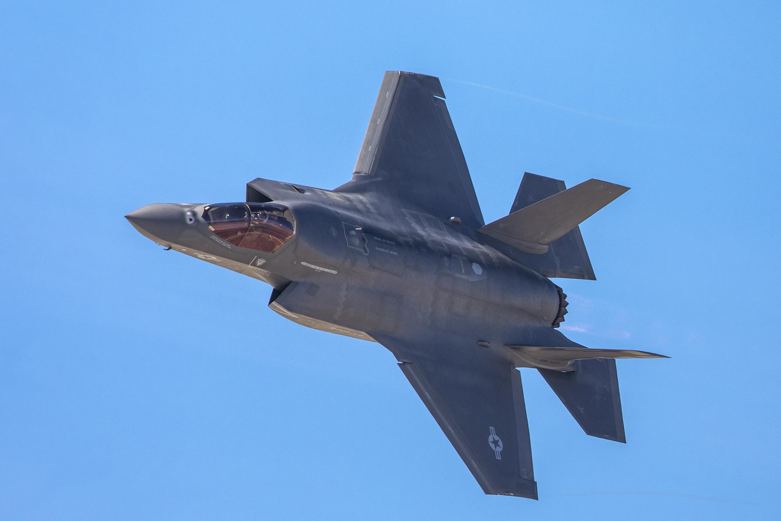 F-35 Lightning II fighter jet
