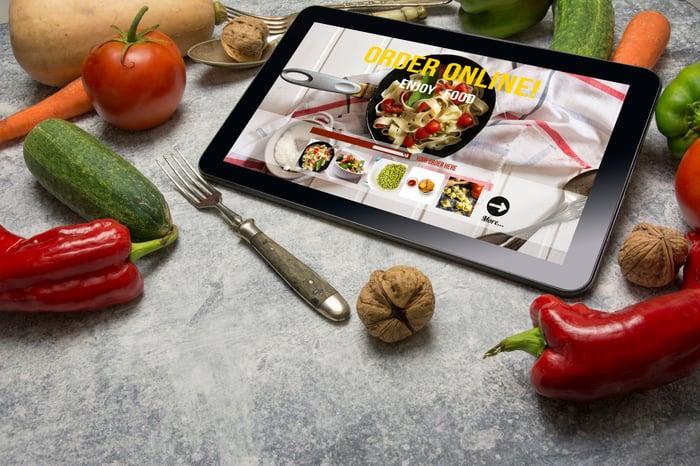Online food delivery order