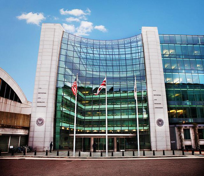 The outside of the SEC headquarters in Washington, D.C..