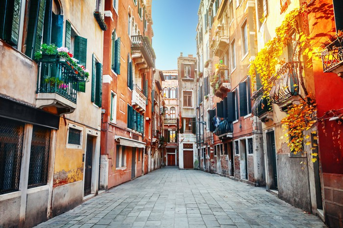 Street in Venice, Italy
