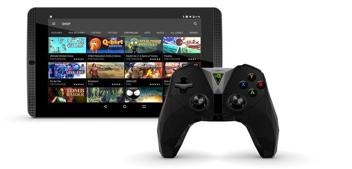 NVIDIA's Shield K1 gaming tablet.