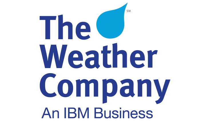 The Weather Company logo.