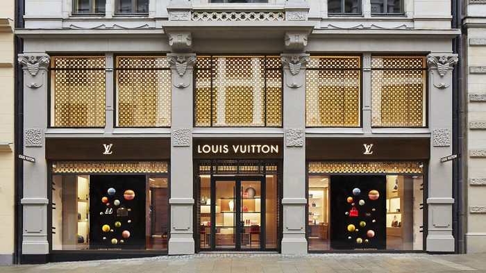 Louis Vuitton store in Oslo