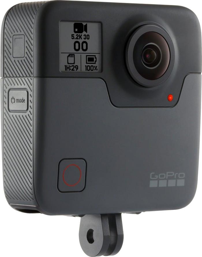 Fusion camera shown at a side angle.
