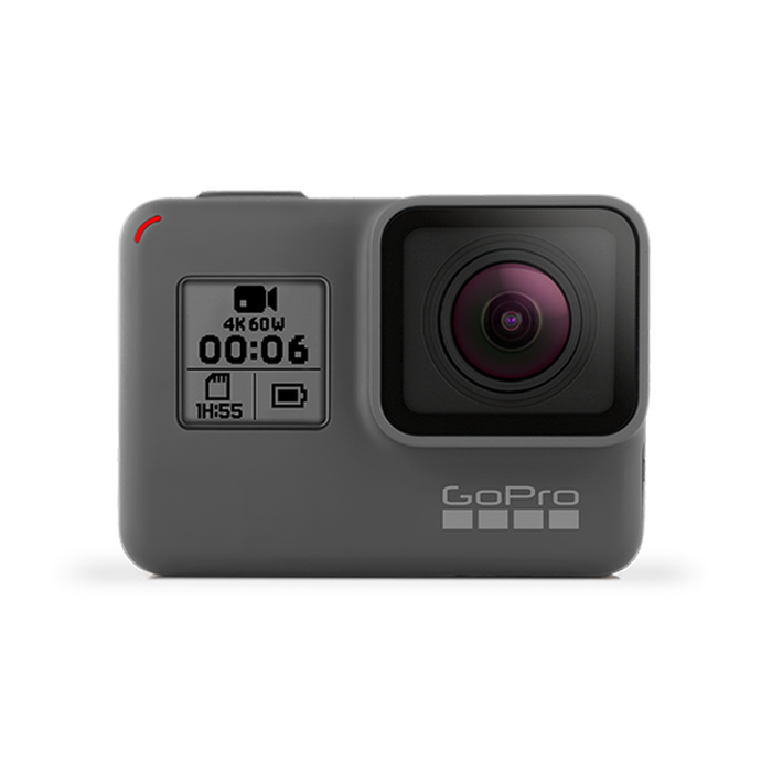 GoPro Hero 6 from the front.
