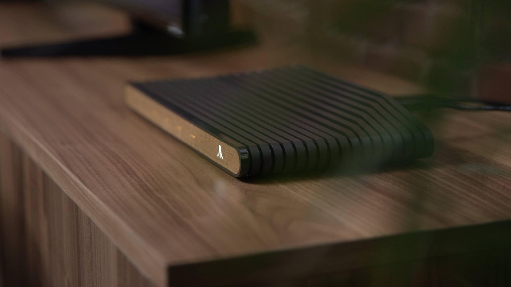 An Ataribox console