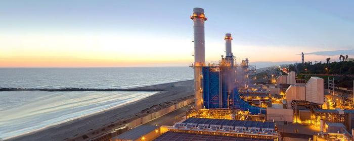 El Segundo gas power plant.