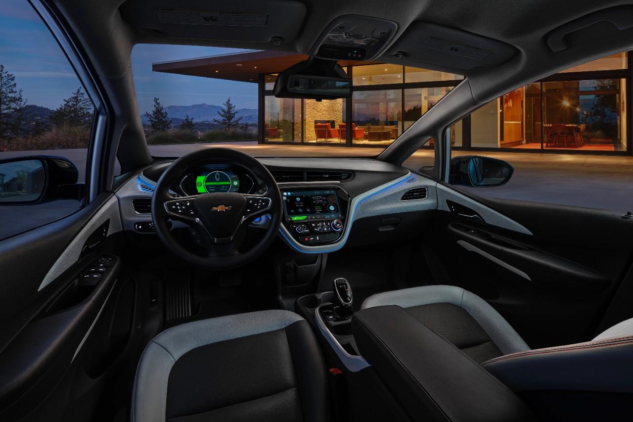 Bolt interior at night